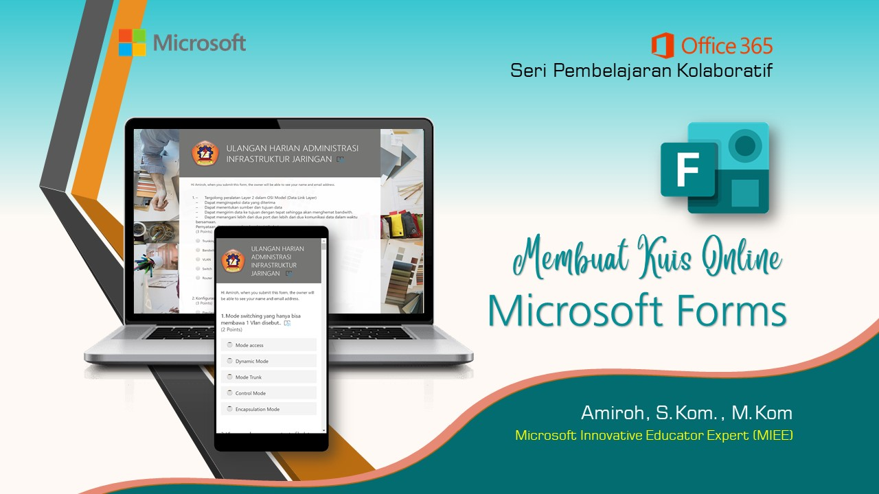 Office 365 Teams : Membuat Kuis Online Dengan Microsoft Form