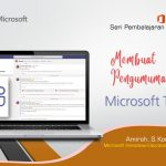 Office 365 Teams : Membuat Pengumuman