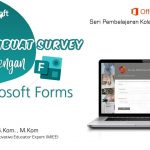 Office 365 : Membuat Survey